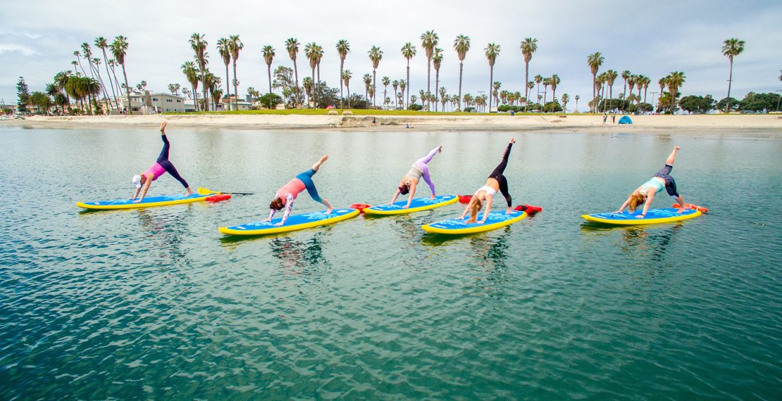 Trictracteambuilding-paddle-yoga
